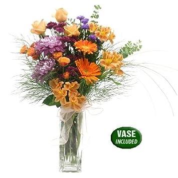 Amazon Pretty Simple Bouquet Fresh Cut Format Mixed Flower