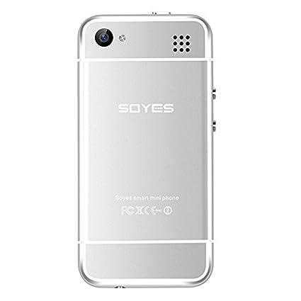 reputable site bd638 4730a Generic SOYES 6S, 1GB+8GB, 2.4 inch Nano Screen MTK6571 up to 1.0GHz,  Bluetooth, WiFi, FM, GSM, Dual SIM(Silver)