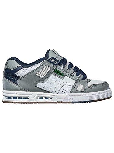 Globe Sabre, Zapatillas de Skateboard para Hombre grey/blue/green