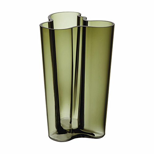 "Used, Iittala Aalto Finlandia 251 MM/ 10"" Vase, Moss Green for sale  Delivered anywhere in Canada"