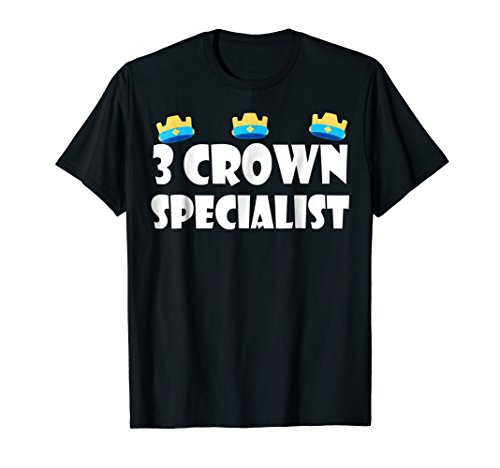 - 3 Crown Specialist TShirt - Perfect for Mobile Gaming/Gamers