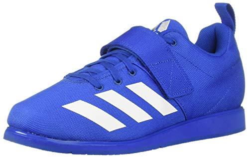 - adidas Men's Powerlift 4, White/Blue, 18 M US