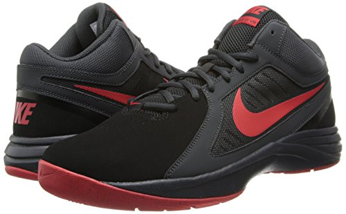 Nike Men's The Overplay VIII NBK Blk/Unvrsty Rd/Anthrct/Drk