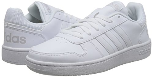 Griuno ftwbla Blanc Baskets Hoops 000 Pour 0 Homme 2 Adidas nPwp8x