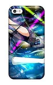 Awesome Design Hatsune Miku 6 Hard Case Cover For Iphone 5/5s