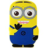 Walsoon 3D Cute Cartoon Despicable Me Minion Soft Silicone Case Cover For iPad 2