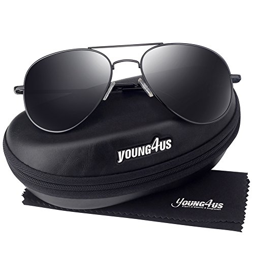 Young4us Aviator Sunglasses - Best Face Round Ray For Bans