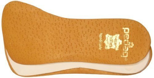 Pedag Correct Plus 3/4 Length Leather Orthotic Footbed for Over-Supinators, Large (US W8-12/EU 38-42)