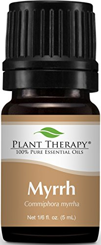 Plant Therapy Myrrh Egyptian Essential Oil. 100% Pure, Undiluted, Therapeutic Grade. 5 mL (1/6 Ounce).