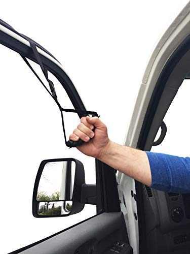 Patient Aid Automotive Standing Support Car Assist Handle Strap for Vehicle - Portable Safety Mobility Lift Grab Band for Elderly, Disabled - Nylon Pull Up Grabber Device for Door