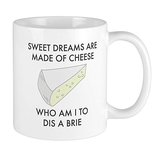 CafePress Sweet Dreams Are Made Of Cheese Mugs Unique Coffee Mug, Coffee Cup ()