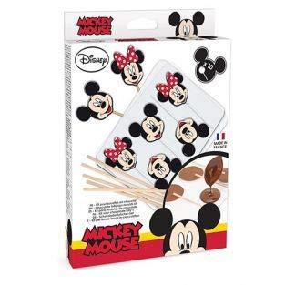 ScrapCooking Chocolate Lollipop Mold Set - Mickey & Minnie Mouse (Molds Mouse Lollipop Minnie)