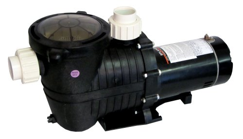 Energy Efficient 2 Speed Pump for In-Ground Pool 1 HP-115V with Fittings (Energy Efficient Swimming Pool Pump)