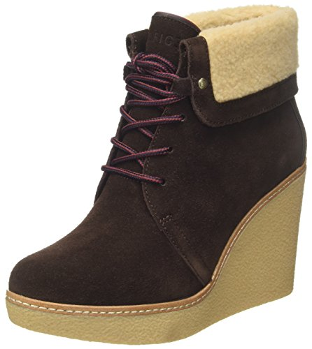 Tommy Bean Bottes coffee 1bw Hilfiger Femme Marron B12385randy rWv7xqr0Bg
