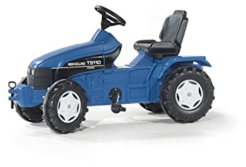 Rolly toys rollyfarmtrac new holland trettraktor mit