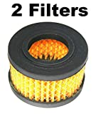 (2-Packs) E100435 Air Compressor Filter Element