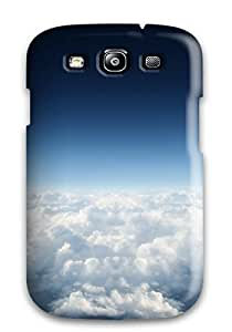 Tough Galaxy MeBSuRG2608gYStM Case Cover/ Case For Galaxy S3(under The Blue Sky Clouds Earth Heaven Nature Clouds)