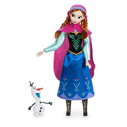 Disney Anna Classic Doll with Olaf Figure - 11 1/2 Inch 460013898238