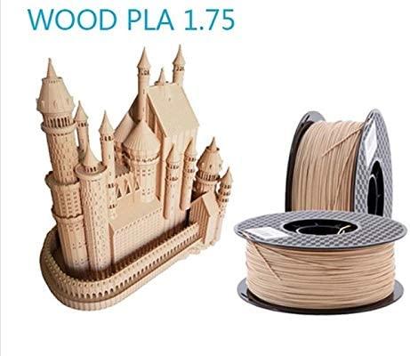 Filamento de impresora 3d, Fayella 1.75mm color de madera material ...