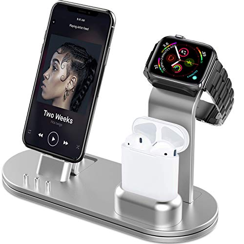 Charging Station for Apple Watch, iPhone and Airpods