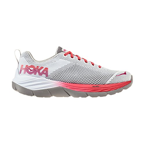 HOKA ONE ONE Women's Mach Running Shoe White/Hibiscus clearance order low cost for sale websites online outlet for cheap Xy98pV