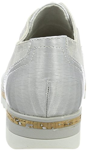 Marco Tozzi Women's 24700 Loafers Grey (Lt.grey Met.c.) vnOlgahE4o