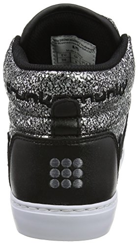 Drunknmunky Donna Scarpe Galaxia black Argento Da Tennis Boston qS4rF