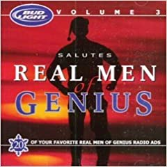 Amazon bud light salutes real men of genius vol 3 flip to back flip to front aloadofball Gallery