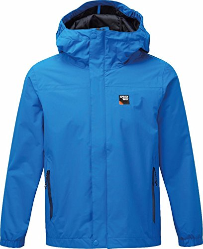 Sprayway Boys Herbie Waterproof Jacket 6-7 Blue