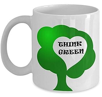 Amazon.com: Taza de café ecológico – Taza de cerámica ...