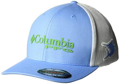 Columbia Standard PFG Mesh Ball, White Cap, Marlin, Small/Medium