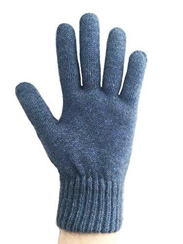 PossumDown Lightweight Brushtail Possum Merino Wool Blend Gloves (Medium, Aviator)