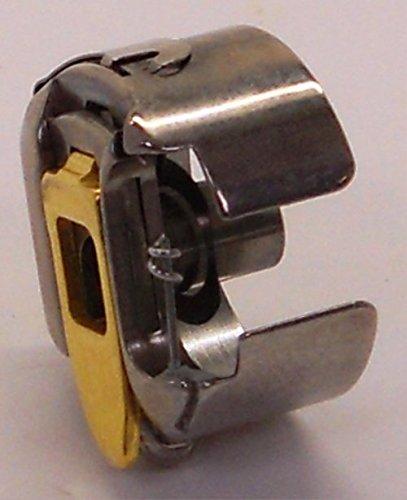Bernina Gold Bobbin Case for Rotary-Hook Embroidery Machine by Bernina