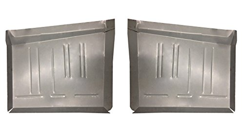 Motor City Sheet Metal - Works With 1967-76 Dart Duster Valiant Scamp Rear Floor Pans NEW PAIR!!!