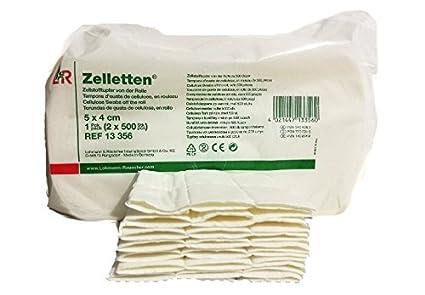 Toallitas de celulosa para uñas -12 capas -100 unidades Zelletten - no dejan pelusillas
