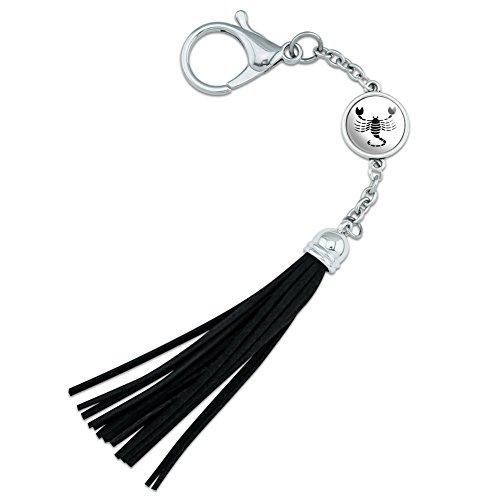 Scorpio The Scorpion Zodiac Horoscope Backpack Handbag Purse Sports Bottle Keychain Tassel Charm