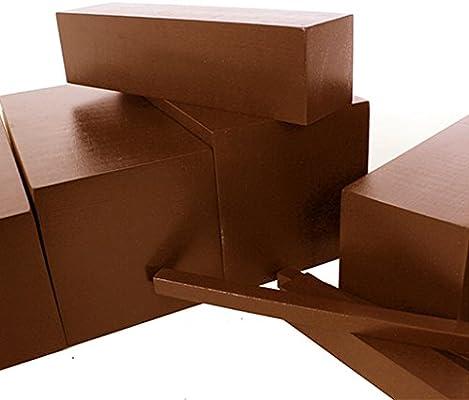 Juguetes de Montessori Ejercicio Sensorial Amplia Escalera de Equipos Madera Familia Marrón: Amazon.es: Juguetes y juegos