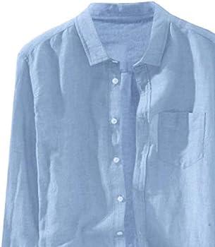 Fashon - Camisa de manga larga para hombre, manga larga, estilo casual, otoño, con botones, talla grande: Amazon.es: Ropa y accesorios