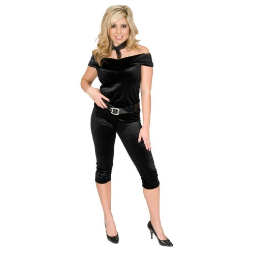 Bad Sandy Halloween Costumes (Dance Queen Adult Costume - Plus Size 3X)