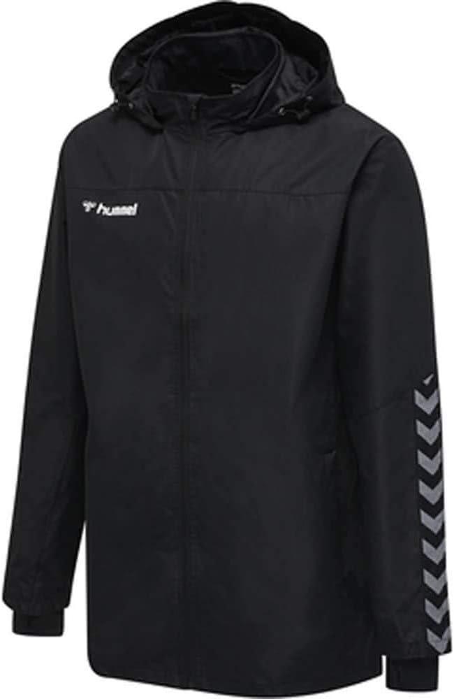 hummel Jungen hmlAUTHENTIC Kids All-Weather Jacket Jacke Black//White 152