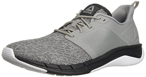 Reebok Men's Print Run 3.0 Shoe,tin grey/foggy grey/coal,7.5 M US