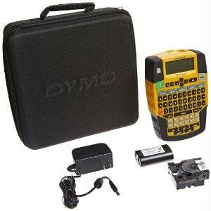 (Dymo Rhino 4200 Soft Case Kit - Label Printer with Case, B/W Cartridge,)