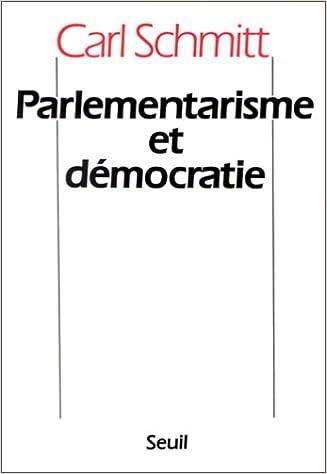 Lire un Parlementarisme et démocratie pdf, epub