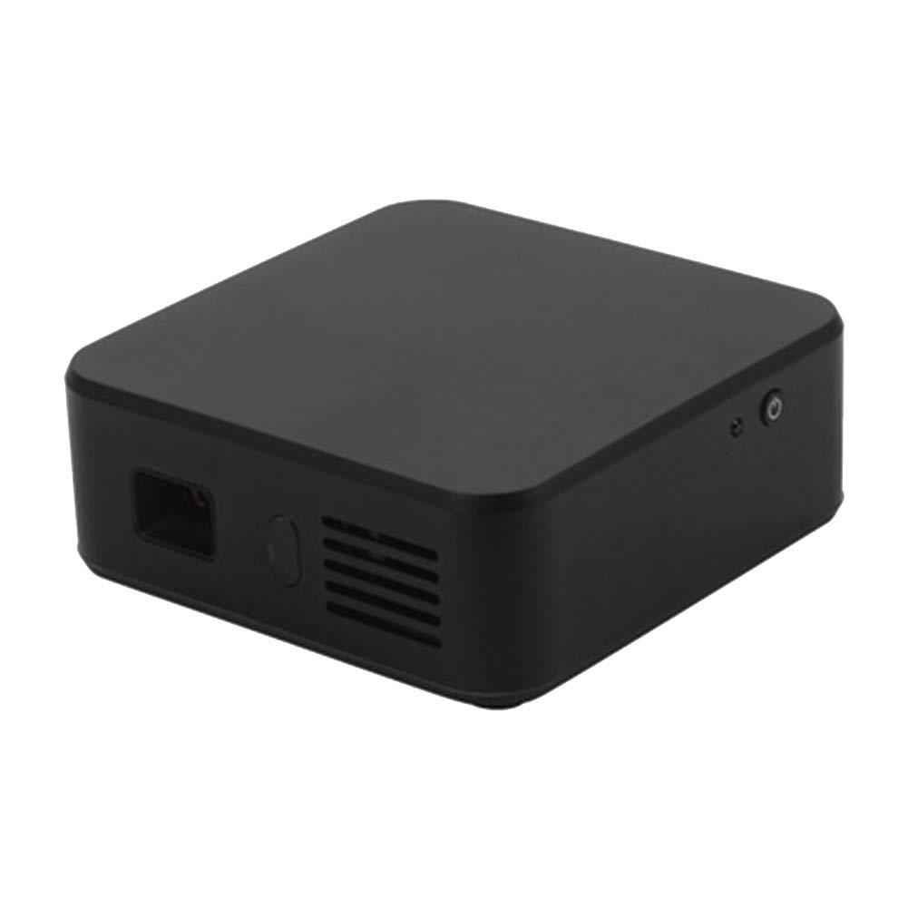 プロジェクター ポータブルミニプロジェクター、 LED 1080P HD投影、WIFI接続、 に適して ファミリー/劇場/パーティー B07QYR4F8F