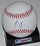 LUCIUS FOX signed OML Major League baseball (TAMPA BAY DEVIL RAYS) W/COA - Autographed Baseballs