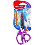 Maped Zenoa Fit Asymmetrical 5-Inch Scissors, Blunt (670220)