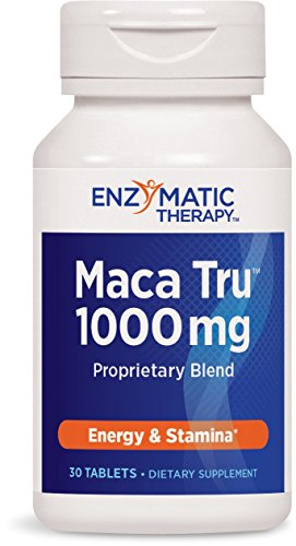 Enzymatic Therapy Maca Tru Tablets, 30 Count