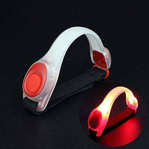 Qise Brazalete de luz LED, Brazo de Flash para Montar en la Noche, Reflectante, portátil y usable, Resplandor en el Uso del...