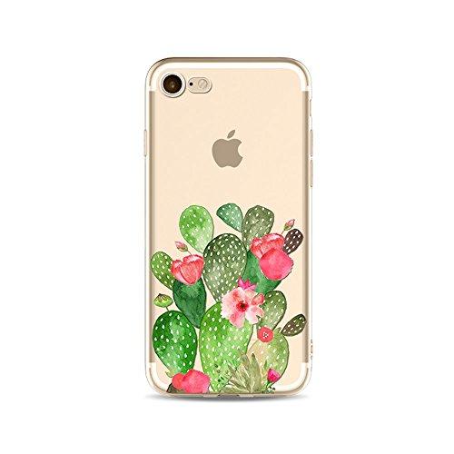 iPhone 6S Plus Funda Silicona, BoomTeck Trasparente Protector Bumper Carcasa para 5.5 Apple iPhone 6 Plus/iPhone 6S Plus Delgado Sottile Goma Cristal Clear TPU Gel Cubierta Shock-Absorción Flessibile 03