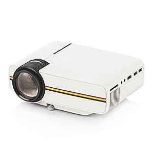 Tera proyector LCD TFT 1920x1080 Multimedia (música, Fotos, vídeo, TXT) con VGA, HDMI, USB, Auriculares, AV, SD